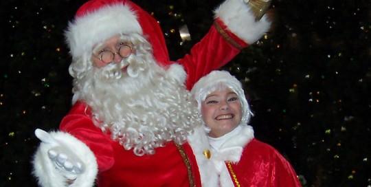 Kersman en kerstvrouw