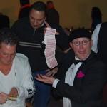 Meneer de Bok als tafelgoochelaar