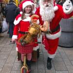 Kerstman en gevolg
