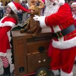 Buiksprekende Kerstman met Rendier